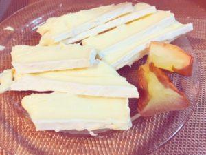 チーズのお供に自家製ドライフルーツ