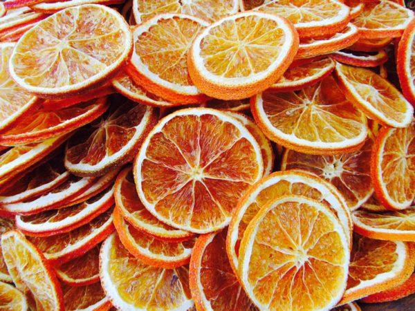 オレンジのドライフルーツ