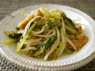 もやしと小松菜のおひたし料理