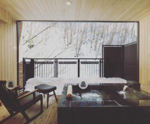 ニセコ昆布温泉杢の抄(客室露天風呂)