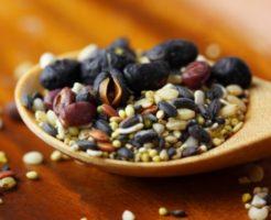 雑穀の栄養を比較!種類や効果、効能