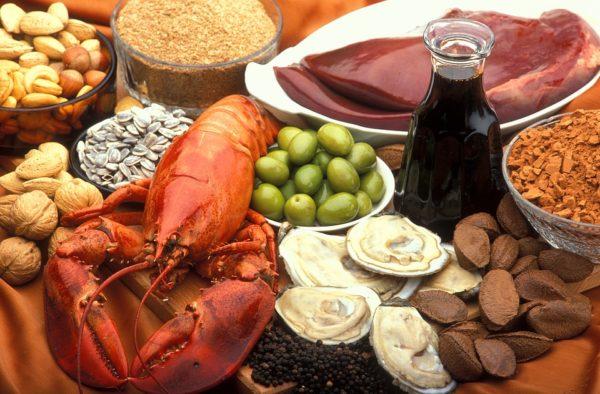 ビタミンB群、ビタミンEを含む食べ物