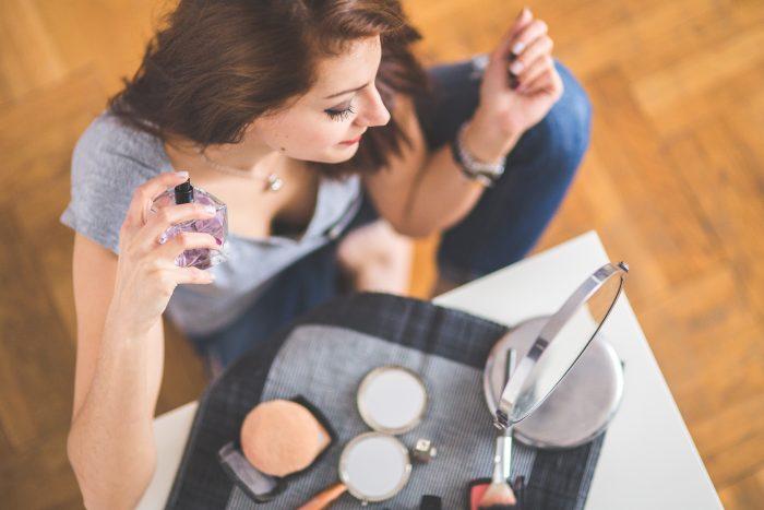 化粧の方法